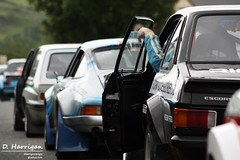 Historic rally cars (dharriganimages) Tags: old school ireland summer ford tarmac rally historic international porsche asphalt escort donegal motorsport ralle