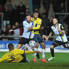 """Bristol Rovers v Torquay United 261214 • <a style=""""font-size:0.8em;"""" href=""""http://www.flickr.com/photos/125622569@N04/16094063536/"""" target=""""_blank"""">View on Flickr</a>"""