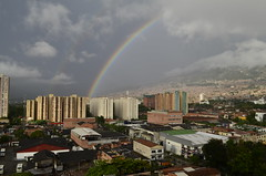 (eamontoyaa) Tags: arcoiris lluvia medelln doblearcoiris