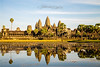 Angkor wat·Siem reab·Cambodia (Qicong Lin(Kenta)) Tags: sunset color colour reflection building landscape temple golden nikon asia cambodia afternoon khmer buddhist angkor wat templecity d600 siemreab suryavarmanii cityoftemple thekingdomofcambodia goldenangkor qiconglin