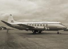 G-ALWF Vickers V.701 Viscount of British European Airways (SteveDHall) Tags: bea duxford preserved displayed vickers imperialwarmuseum iwm viscount britisheuropeanairways vickersviscount v701 galwf beabritisheuropeanairways vickersv701viscount vickersv701