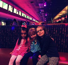 Mady, Lola and Evie at Sunset Lanes by BeFunky.com (pete4ducks) Tags: friends oregon lola beaverton bowling cropped 500views evie mady bff iphone photoeffects 2015 sunsetlanes befunky befunkycom