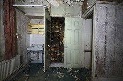 Damp Problem (Sam Tait) Tags: england abandoned mess force many air royal lincolnshire derelict raf officers