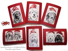 wandklex_handgemalte_Weihnachtskarten_2014 (2) (wandklex Ingrid Heuser freischaffende Knstlerin) Tags: christmas portrait dog mountain holiday black colour ingrid water smile painting weihnachten schweiz shepherd swiss pug valentine weihnachtsmann hund watercolour nikolaus schweizer berner mops blackportrait sennenhund molosser bullie heuser weihnachtsmtze colourblack hahnemhle btten doghund dalmatiandog dalmatianpuppy paintingdog frenchbullie wandklex buetten