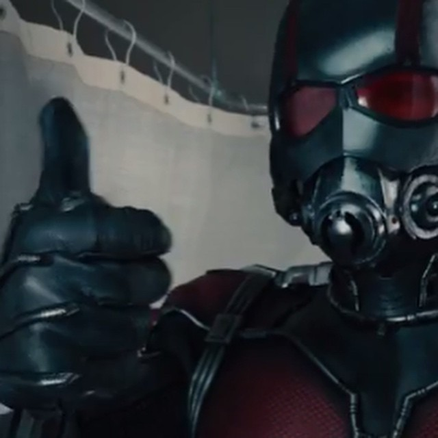 Ant-Man Teaser gets a Thumbs Up! #AntMan @Marvel http://youtu.be/xInh3VhAWs8