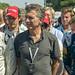 Mauricio Macri asistió a la competencia de Formula E.-