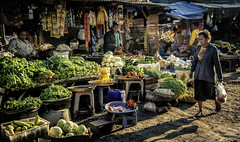 Scene at Kupang traditional market (syukaery) Tags: trip travel people woman tourism vegetables indonesia nikon market traditional vendor marketplace local dailylife activity nikkor ntt humaninterest kupang 24120mm d700 eastnusatenggara vsco