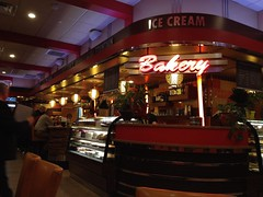 Interior shot of the Red Line Diner, Fishkill, NY (63vwdriver) Tags: new york red ny bar dessert us neon counter 9 diner line route fishkill stainless deraffele