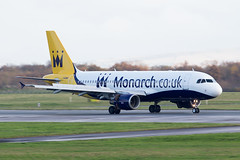 Monarch G-MRJK 22-11-2014 (Enda Burke) Tags: travel holiday man canon airplane manchester holidays aviation landing motionblur monarch airbus mon runway avp aero manchestercity a320 320 manchesterairport rvp manc egcc av8 aviationviewingpark monarchairlines avgeek gmrjk canon700d manairport landingear runwayvisitorpark manchsterairport runwayvistitorpark manchesterrunwayvisitorpark