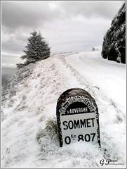 LE TEMPS D'UN HIVER (Gilles Poyet photographies) Tags: nature hiver neige soe auvergne puydedme autofocus aplusphoto artofimages bornemichelin rememberthatmomentlevel1 laroutedupuydedme