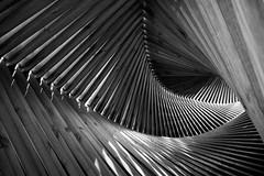 Wood art (Helena Normark) Tags: abstract norway norge trondheim srtrndelag a7 voigtlnder woodensculpture woodart woodsculpture brattra voigtlanderultron35mmf17 ultron35mmf17 sonyalpha7 woodtunnel