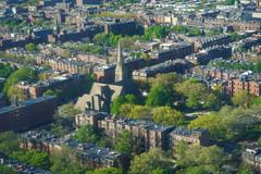 Good morning, Boston! (Jeffrey) Tags: city windows sky window boston skyline aerial views backbay dirtywindow aea aneventapart aeaboston aeabos