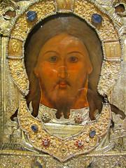 Metropolitan Museum of Art - Mandylion (1637) (bronxbob) Tags: nyc newyorkcity art painting icons manhattan religion museums metropolitanmuseumofart