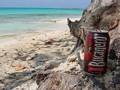 More beer on the beach (Stickwork-Steve) Tags: beer beach cuba cayococo cerveza