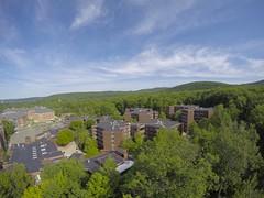 Aerial images of Binghamton University (BinghamtonUniversity) Tags: usa ny vestal aerials reslife 2015 ciw residentiallife buildingsandfacilites collegeinthewoods