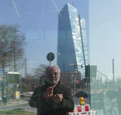 Its my tower (JohannFFM) Tags: reflektion selfie ezb