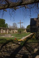 Cross (Yvonne L Sweden) Tags: spring cross sweden may linkping pergola nunnery vr vretakloster klosterruin
