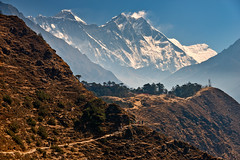 Trail to Everest Base Camp, Nepal (CamelKW) Tags: nepal trekking trail himalayas ebc 2016 everestbasecamp everestpanoram