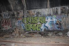 Crusty, Gaw, Sage, Space (NJphotograffer) Tags: new railroad graffiti space nation hell nj rail tunnel sage jersey graff gaw crusty hn trackside