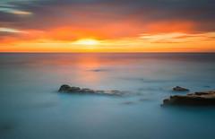 Windandsea (David Colombo Photography) Tags: ocean california longexposure sunset sea sky seascape water clouds landscape coast seaside nikon waves pacific sandiego outdoor dusk shore reef d800 windandsea leebigstopper davidcolombo davidcolombophotography