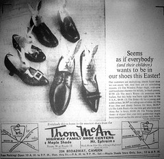 Thom McAn Advertisement (JSF0864) Tags: vintage shoe store ad advertisement thommcan