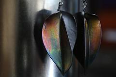 hooked (Elly Snel) Tags: colorful earrings kleurrijk oorbellen ansh scavenger1