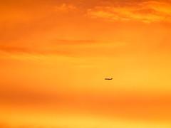 _6262668 (elsuperbob) Tags: sunset sky colors clouds michigan airplanes detroit cloudscape alienworlds