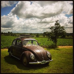 Lavenham (zombikombi1959) Tags: iphone4 instagram lavenhamvolkswagenvwvintageclassicshowsuffolk