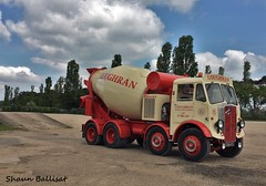 AEC Mammoth Major cement mixer GBW 830 (Shaun Ballisat Transport Photography) Tags: old classic truck vintage photography major photos transport cement mixer historic vehicles lorry commercial mammoth vehicle trucks mixing 830 lorries aec gbw loughran gbw830