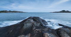 Land, sea and sky (Per-Karlsson) Tags: longexposure sea motion water rock islands coast waves waterfront sweden waterscape waterinmotion styrs swedishwestcoast canoneos6d