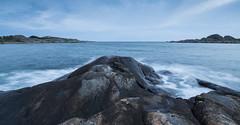 Land, sea and sky (Per-Karlsson) Tags: longexposure sea motion water rock islands coast waves waterfront sweden waterscape waterinmotion styrsö swedishwestcoast canoneos6d