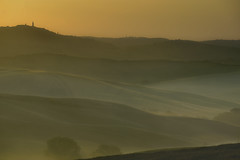 Morgenstimmung, San Quirico (Wolfgang.Grilz) Tags: unesco tuscany siena montalcino pienza montepulciano valdorcia toskana bagnovignoni sanquirino cretesenese