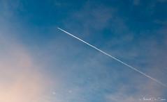 Sky (antonio.desiena) Tags: blue sky clouds airplane 50mm nikon blu f14 sigma d800 nikonitalia