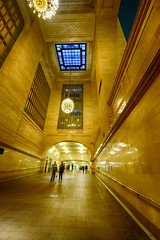 Inside Grand Central Station, New York (` Toshio ') Tags: newyorkcity people newyork building architecture hall interior trainstation grandcentralstation grandcentralterminal toshio xe2 fujixe2
