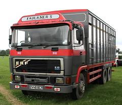 ERF E 6x4 Faulkners Animal Remoer E448BCA Frank Hilton IMG_3137 (Frank Hilton.) Tags: bus classic car vintage bedford lorry trucks erf morris tractors albion commercials foden atkinson aec fergy