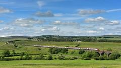 Railways in the landscape - Tebay (legomanbiffo) Tags: services m6 virgin pendolino wcml greenholme shap tebay cumbria landscape railway railways