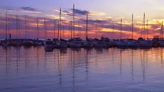 Seasons: week 23 of 52 wks: the 2016 edition (MsFoo) Tags: longexposure sunset marina sailboats lakehuron portelgin 52weeksthe2016edition week232016 weekstartingfridayjune32016