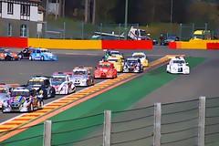 premier virage (philippejeanne) Tags: car vw race start beetle voiture course circuit dpart coccinelle comptition