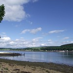 North Kessock across the Beauly Firth (Loch Beauly) from Inverness Scotland thumbnail