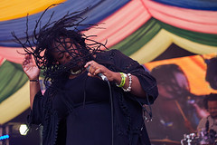 Eska @ Mostly Jazz  Festival 1 (preynolds) Tags: concert livemusic dof canon5dmarkii mark2 raw gig tamron2470mm frontwomen singer singing stage stagelights festival birmingham moseleyprivatepark moseley hair soul music musician counteractmagazine noflash mostlyjazz2016