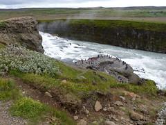 P1870426 Gullfoss waterfall  (19) (archaeologist_d) Tags: waterfall iceland gullfoss gullfosswaterfall