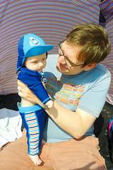 Shanklin beach (photoverulam) Tags: harry isleofwight richard shanklin me