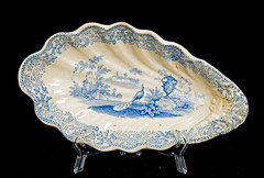 Staffordshire Relish Dish (Madison Historical Society) Tags: madisonhistoricalsociety madisonhistory mhs madison connecticut ct conn connecticutscenes country usa china newengland nikond600 nikon d600 bobgundersen bostonpostroad route1 allisbushnellhouse abhouse antiques old historical history interesting image inside indoor interior picture photo shot flickr porcelain