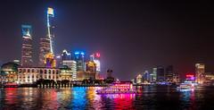 River Cruising (Rob-Shanghai) Tags: shanghai china huangpu river boats towers leicaq jinmao wfc highiso