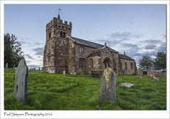 St Cuthberts, Edenhall, Cumbria (Paul Simpson Photography) Tags: cumbria church religion september2016 sonya77 imageof imagesof paulsimpsonphotography photoof photosfrom photosof england graves headstones stcuthberts tower religious building edenhall village villagechurch