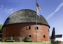 Arcadia, Oklahoma Round Barn.....Explore (bitzy1957) Tags: red barn oklahoma explore