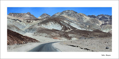 On the road at Death Valley (valerie.champion) Tags: death valley dsert route road etatsunis californie paysage landscape monts