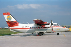 UR-67519 LET L-410UVP Turbolet Air Ukraine (pslg05896) Tags: kbp ukbb kyiv kiev boryspil borispol ukraine ur67519 let l410 turbolet airukraine
