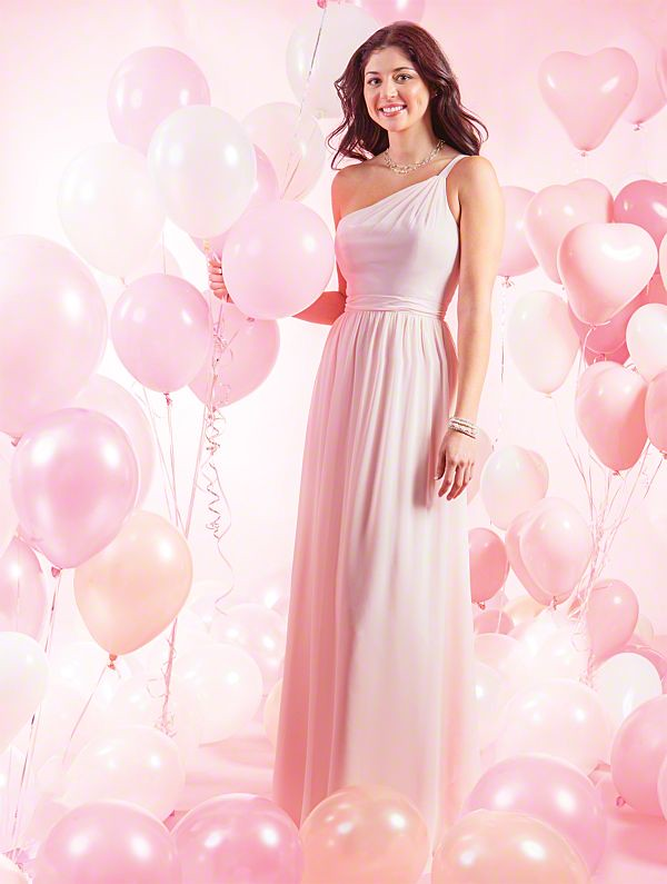 26763792b5 Alfred Angelo Chiffon Bridesmaid Dress 7388 (abridesworld) Tags  alfred  angelo venus bridal long