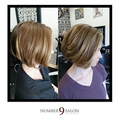 "Stylist, Michelle S. nailed this full head of babylights, followed by a style with @bumbleandbumble products! #behindthechair #babylights • <a style=""font-size:0.8em;"" href=""http://www.flickr.com/photos/41394475@N04/29629980162/"" target=""_blank"">View on Flickr</a>"
